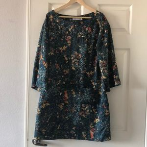 See by Chloe floral shift dress